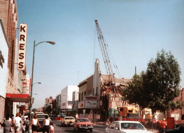 Ritz demolition 1970's.