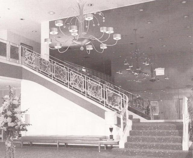 Lobby of the Memorial Theater