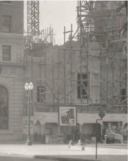 Under construction, 1930