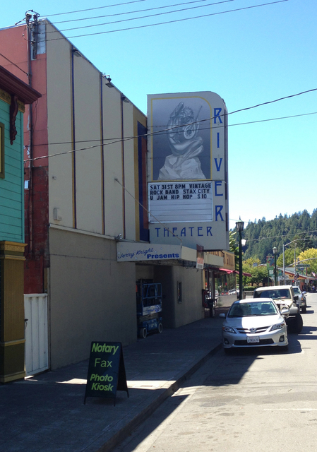 River Theater, Guerneville, CA - 2013