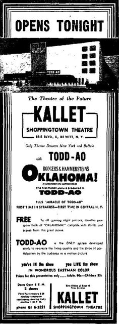 Kallet Shoppingtown Theatre