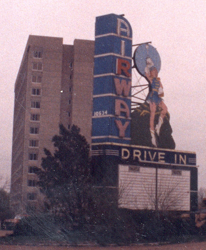 Airway Drive in, St. Ann, MO, 1989
