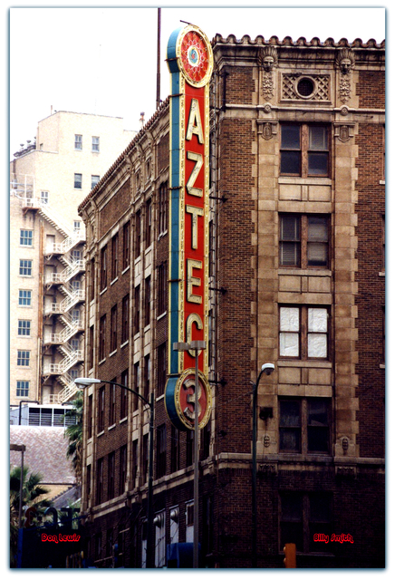 Aztec Theatre© San Antonio TX / Don Lewis / Billy Smith