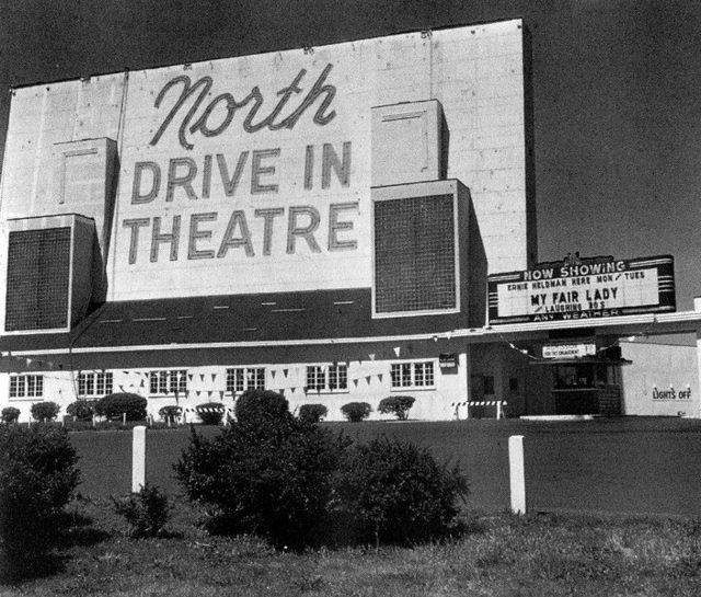 North Twin Drive in, Jennings, Missouri, 1948