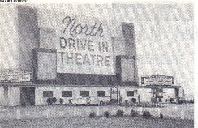 North Twin Drive in, Jennings, Missouri, 1967