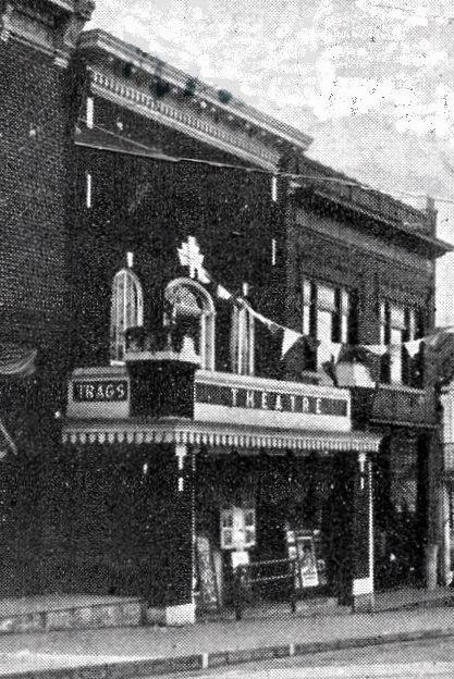 ADLER (nee TRAGS) Theatre; Neilsville, Wisconsin.