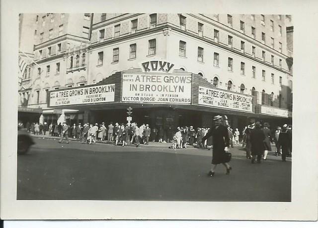 NYC Roxy 1945