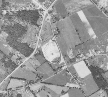 1967 Aerial shot of the Moonlite
