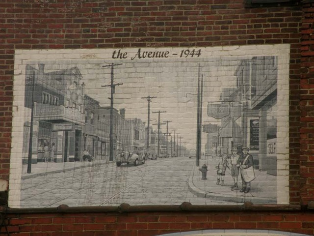 Mural of Arlington Ave.