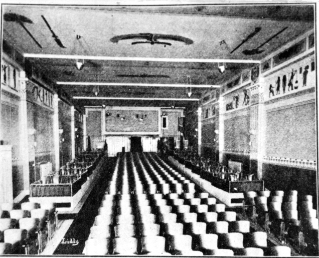 The Majestic Theatre Interior 1912