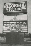 <p>Feb. 11, 1982 at the first anniversary of the Georgia Square 1-4. Over 700 people showed up so the reduced admission promo worked on a weekday.</p>