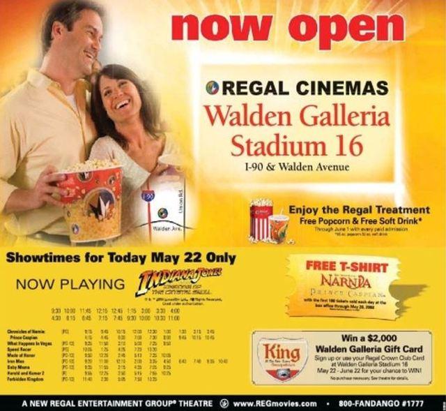 Regal Walden Galleria Stadium 16 & RPX