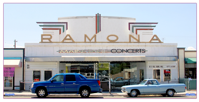 Ramona Theatre ... Ramona California