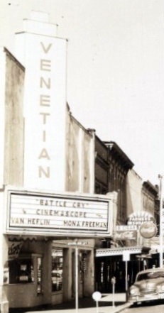 VENETIAN Theatre; Albany, Oregon.