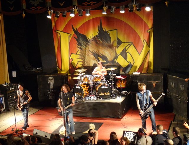 Jackyl on stage Watseka Theatre May 2013