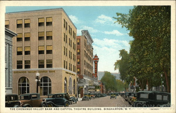 Capitol Theatre from old postcard