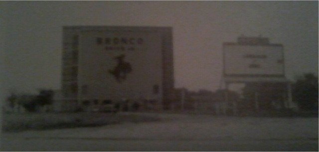 Bronco Drive-in 1976