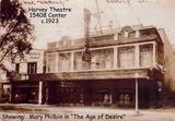 Harvey Theatre 1920's