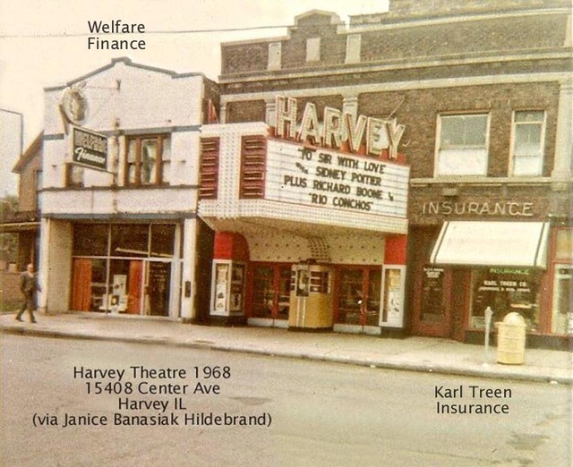 Harvey Theatre 1968