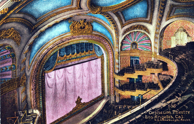 ORPHEUM Theatre; Los Angeles, California.