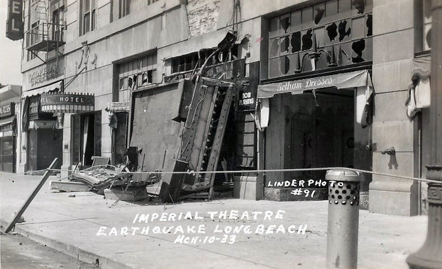 IMPERIAL Theatre; Long Beach, California.