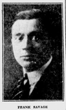 Frank Savage, long time manager of the Warner Theater.