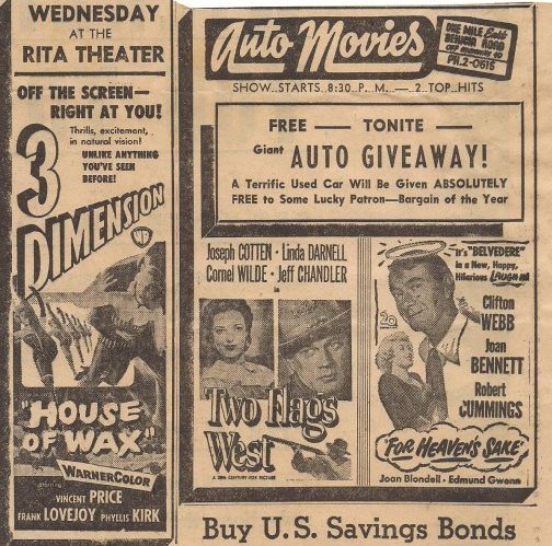 Vallejo Auto Movies Advertisment