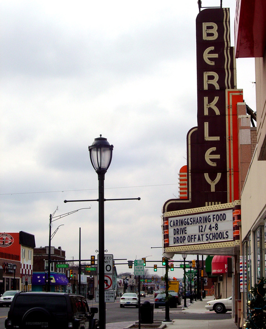 BERKLEY Theatre; Berkley, Michigan.