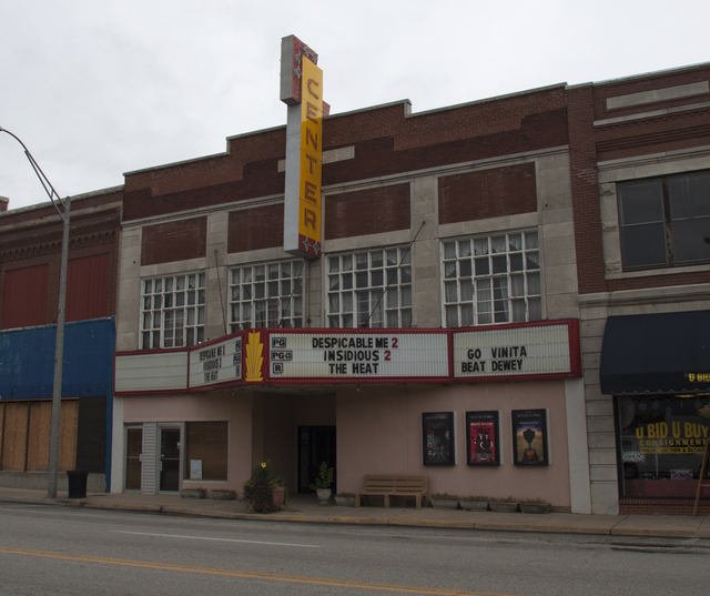 Center 3 Theaters, Vinita, OK - 2013