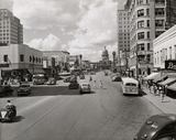 Paramount in the distance during World War II. Photo courtesy of Hemmings Motor News Facebook page.