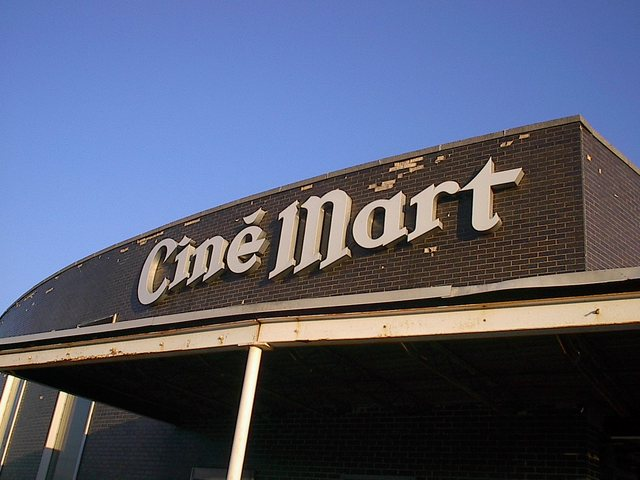 Cinemart Sign