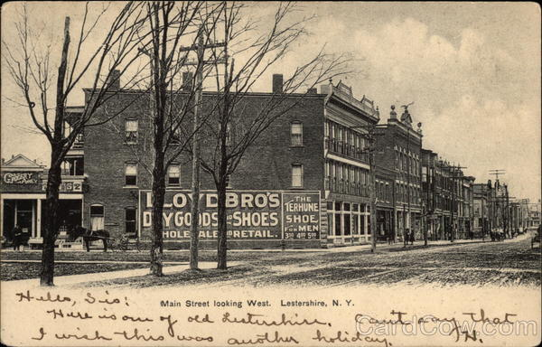 Main Street, Johnson City, circa 1905