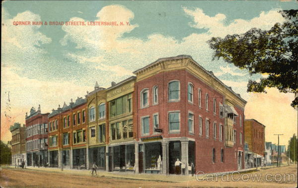 Main Street, Johnson City, circa 1909