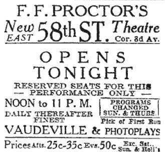 RKO Proctor's 58th Street Theatre