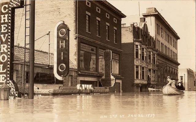 Ohio Theater, flood