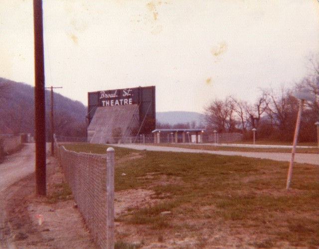 The Broad Street Drive-In From The Late 70's...