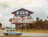 <p>Here's an old picture that I made of the marquee at the Fox Drive-In from 1979…Enjoy!!!</p>