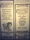 Advertisment about the Fairfield Cinema II
