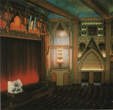 <p>Auditorium as a cinema, with Wurlitzer console.  Circ-late-1960's.  Photograph by John Sharp</p>