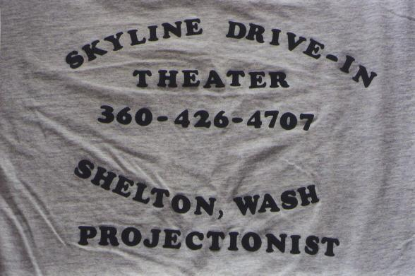 Projectionist T shirt