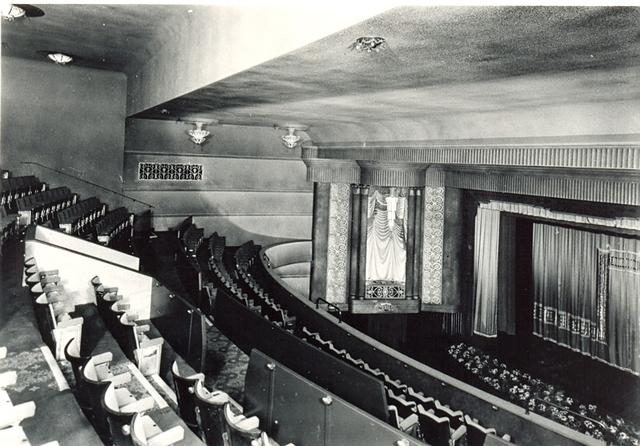 Interior of the Ritz, Hythe