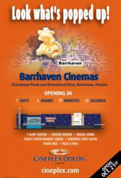 Cineplex Odeon Barrhaven