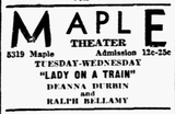 Maple Theatre
