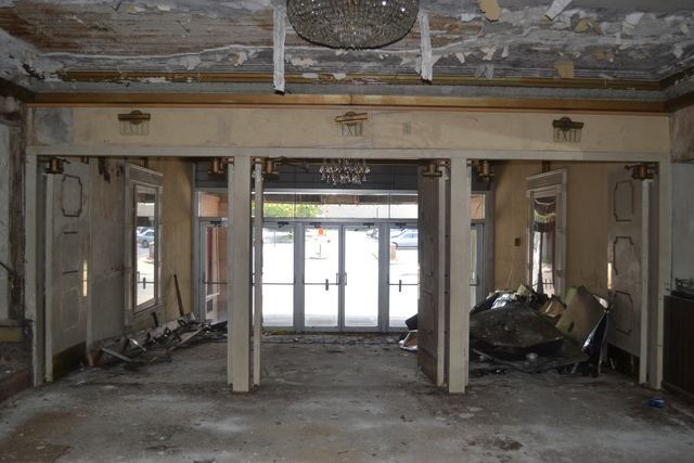 Lobby of the Regent Theatre