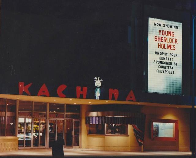 Kachina Theatre 1985. Photo courtesy of the Vintage Phoenix Facebook page.