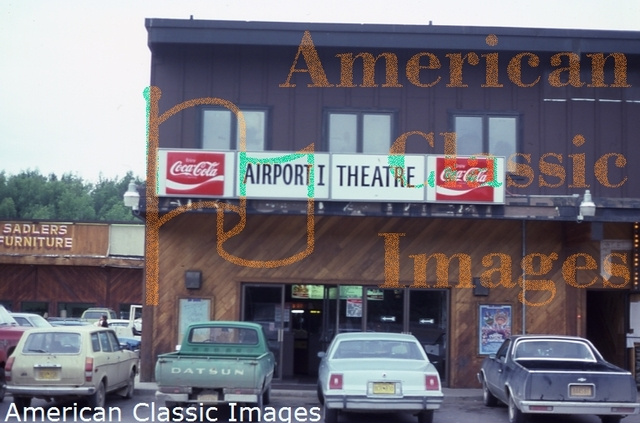 Airport One Theatre in 1984