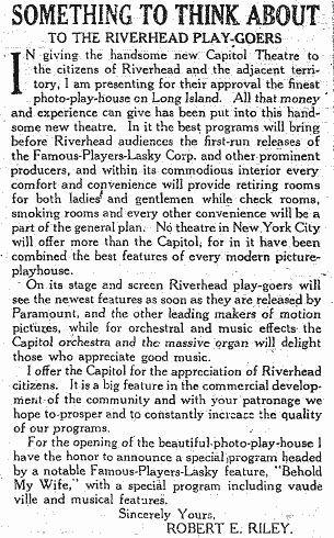 Riverhead Theatre