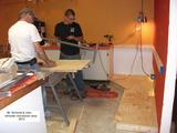 Concession area renovations underway