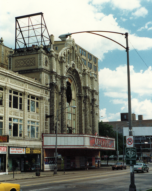 Granada Theatre, Chicago, IL (appr. 1988)
