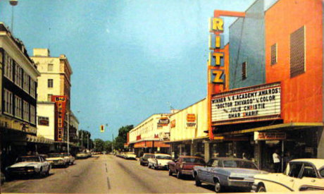 RITZ Theatre; Winter Haven, Florida.